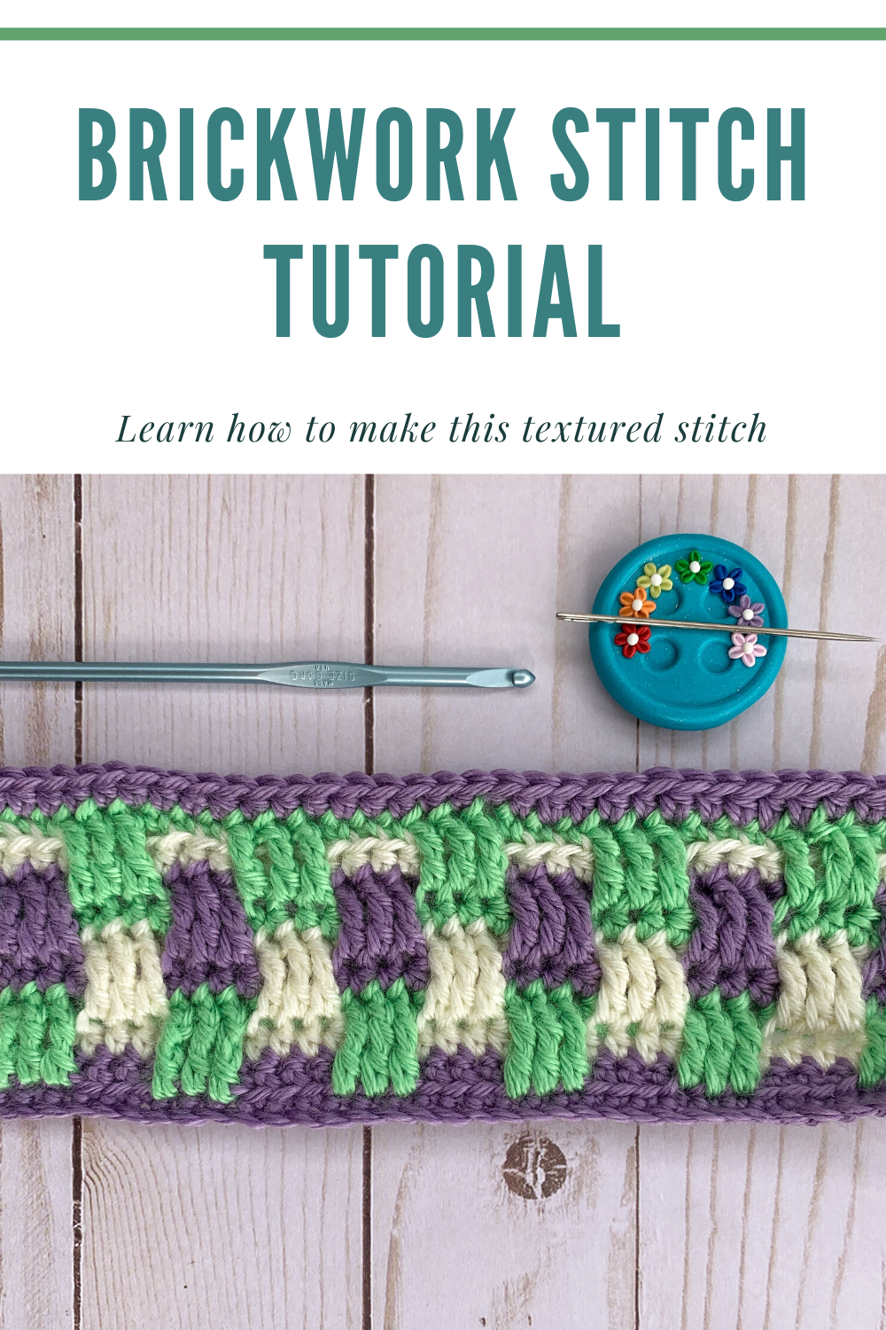 Brickwork Stitch Tutorial